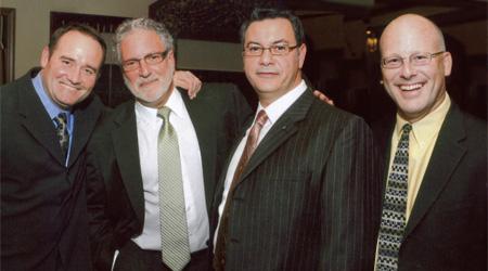 David Levy, Jim Hennessey, Ed Riorden, and Sam Guglielmino